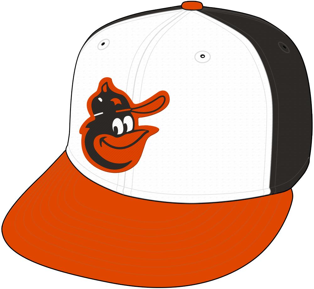 Baltimore Orioles Cap Cap (1979-1988) -  SportsLogos.Net
