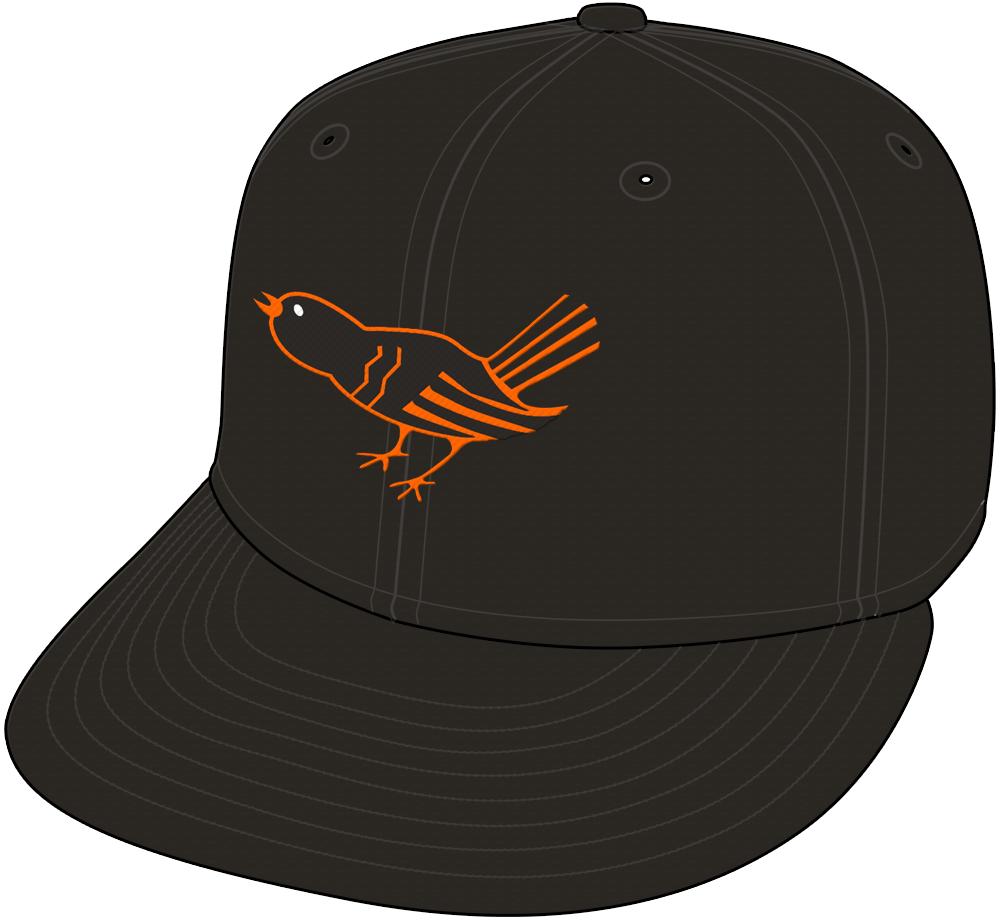 Baltimore Orioles Cap Cap (1964-1965) -  SportsLogos.Net