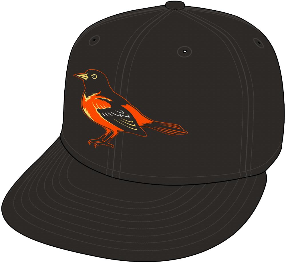 Baltimore Orioles Cap Cap (1999-2008) - Road Only (2002-2008) SportsLogos.Net