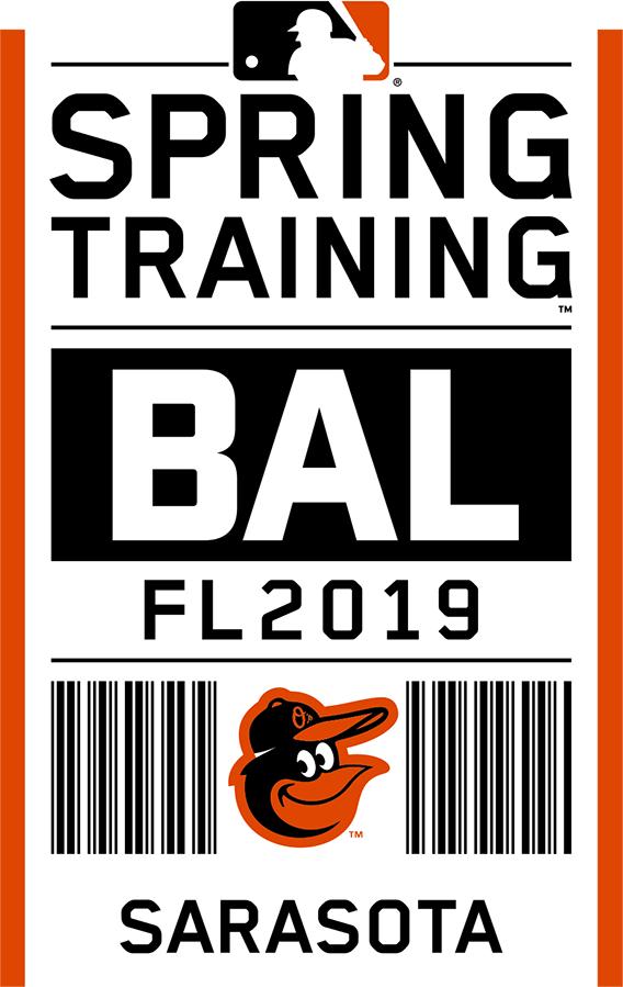 Baltimore Orioles Logo Event Logo (2019) - Baltimore Orioles 2019 Spring Training Logo SportsLogos.Net