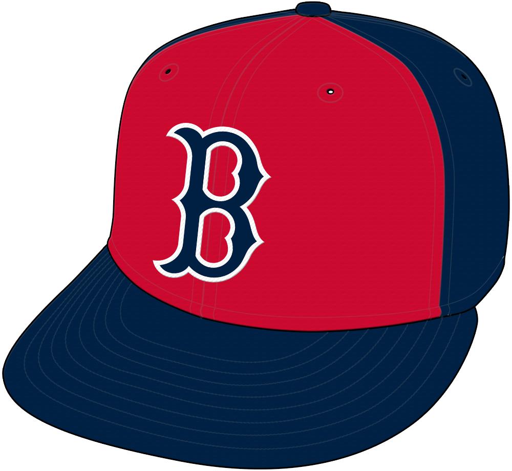 Boston Red Sox Cap Cap (1974) - Alternate Cap SportsLogos.Net