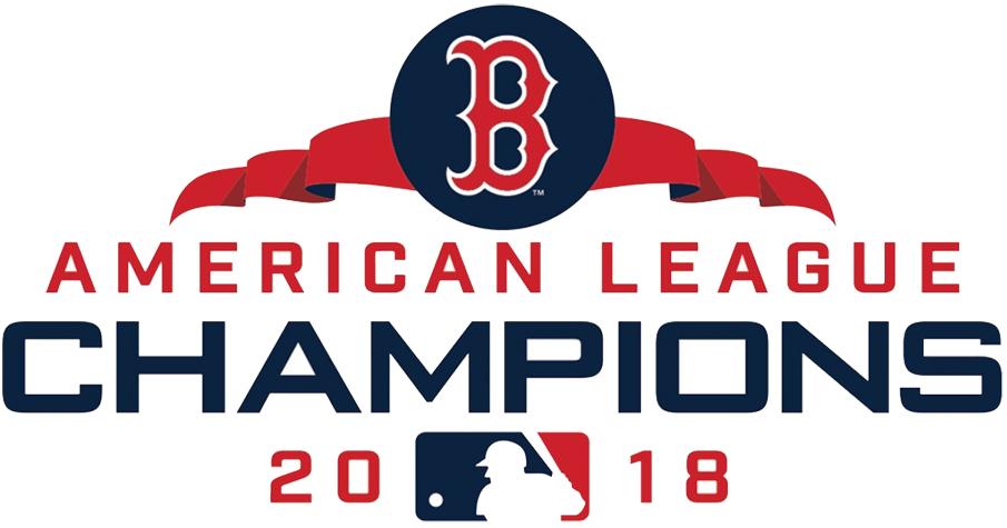 Boston Red Sox Logo Champion Logo (2018) - Boston Red Sox 2018 American League Champions Logo SportsLogos.Net