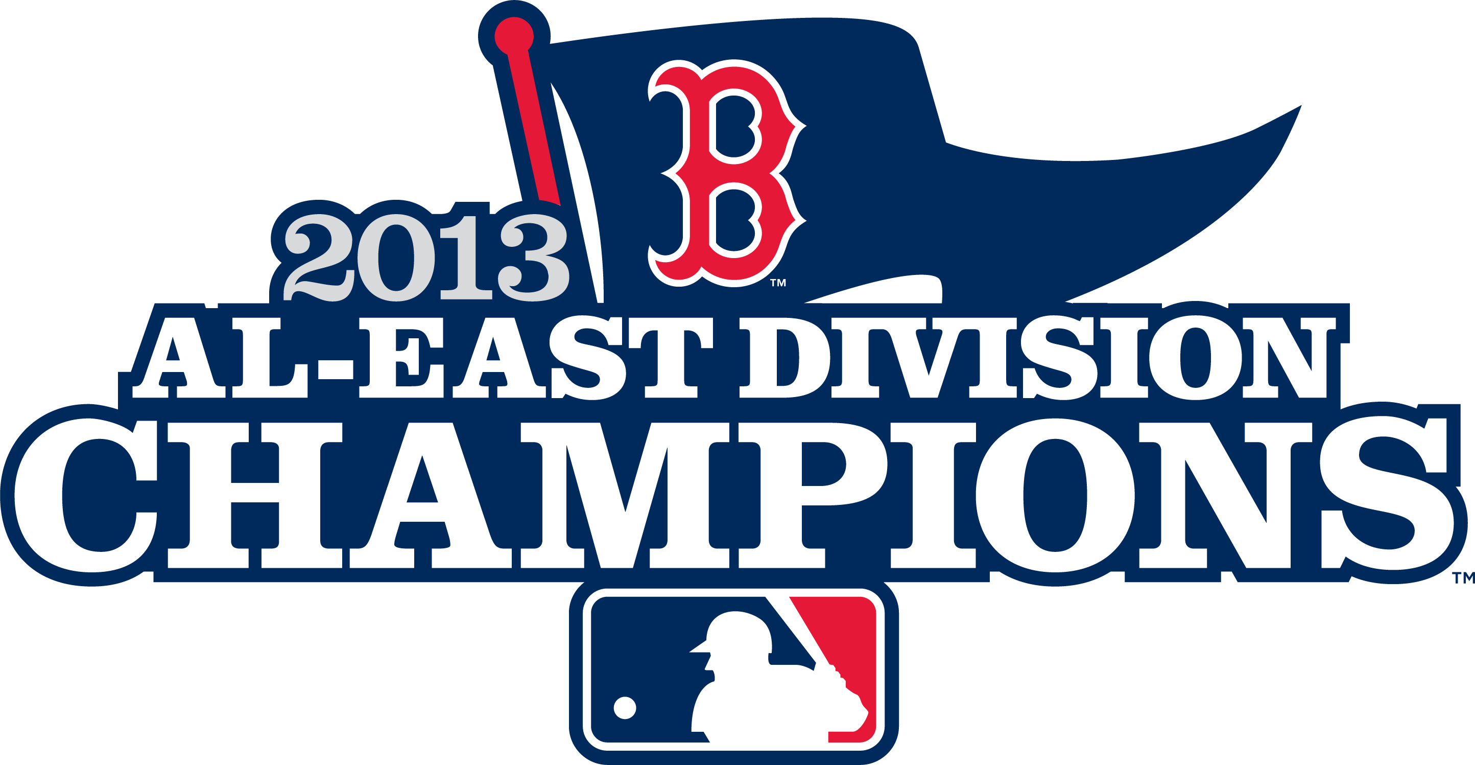 Boston Red Sox Logo Champion Logo (2013) - Boston Red Sox 2013 AL East Division Champions logo SportsLogos.Net
