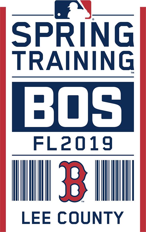 Boston Red Sox Logo Event Logo (2019) - Boston Red Sox 2019 Spring Training Logo SportsLogos.Net