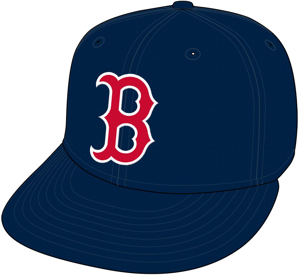 Boston Red Sox Cap Cap (1996-Pres) -  SportsLogos.Net