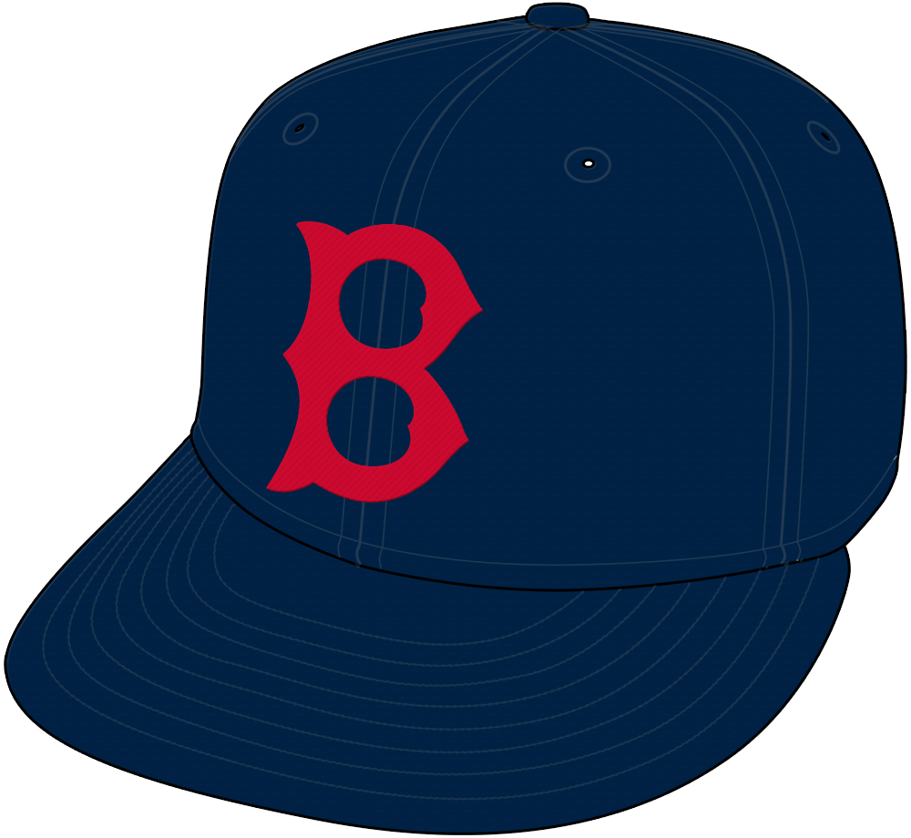 Boston Red Sox Cap Cap (1936-1945) -  SportsLogos.Net