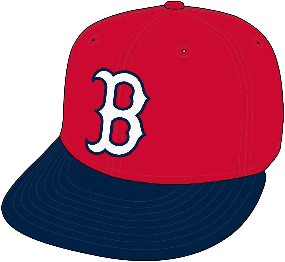 Boston Red Sox Cap Cap (1997) - Alternate Red Cap SportsLogos.Net