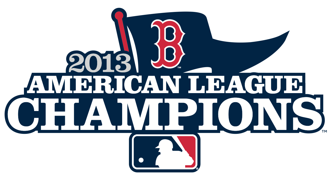 Boston Red Sox Logo Champion Logo (2013) - Boston Red Sox 2013 American League Champions Logo SportsLogos.Net