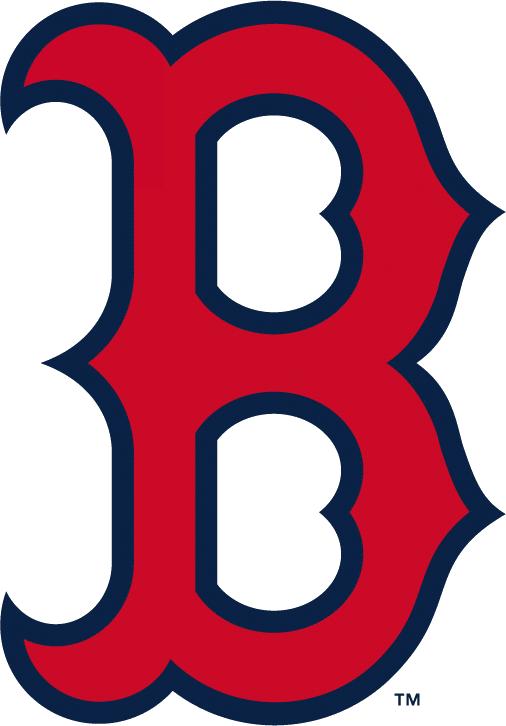 Boston Red Sox Logo Alternate Logo (2009-Pres) - Red B with blue outline SportsLogos.Net