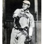 Boston Red Sox (1909) Harry Hooper wearing the Boston Red Sox home uniform during the 1909 season