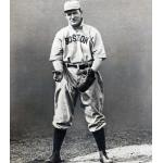 Boston Red Sox (1909) Bill Carrigan wearing the Boston Red Sox home uniform during the 1909 season