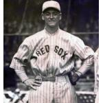 Boston Red Sox (1923) George Burns wears the Boston Red Sox road uniform during the 1923 season
