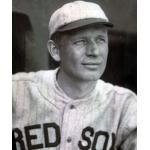 Boston Red Sox (1925) Howard Ehmke wears the Boston Red Sox road uniform during the 1925 season