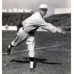 Boston Red Sox (1928) Herb Bradley wears the Boston Red Sox home uniform during the 1928 season