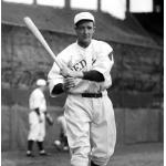 Boston Red Sox (1932) Earl Webb wearing the Boston Red Sox home uniform in 1932
