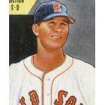 Boston Red Sox (1949) Joe Dobson in the Boston Red Sox home uniform in 1949