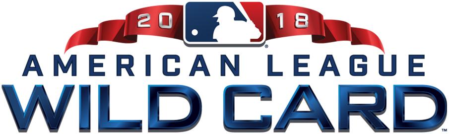 AL Wildcard Game Logo Primary Logo (2018) - 2018 American League Wildcard Game logo SportsLogos.Net