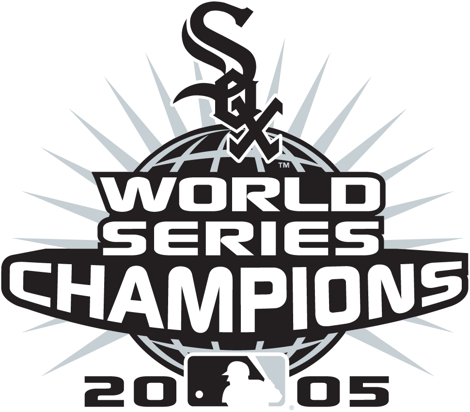 Chicago White Sox Logo Champion Logo (2005) - Chicago White Sox 2005 World Series Champions logo -- worn as a patch in 2006 SportsLogos.Net