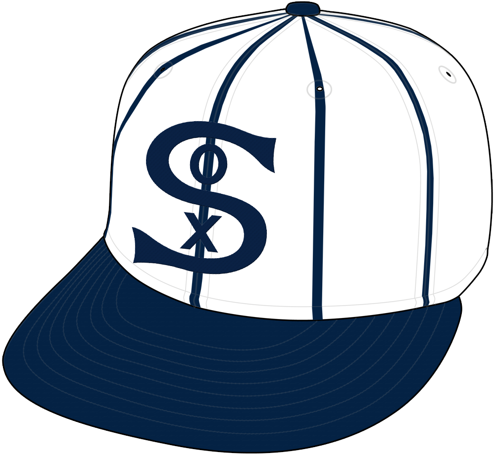 Chicago White Sox Cap Cap (1917) - Home Cap SportsLogos.Net