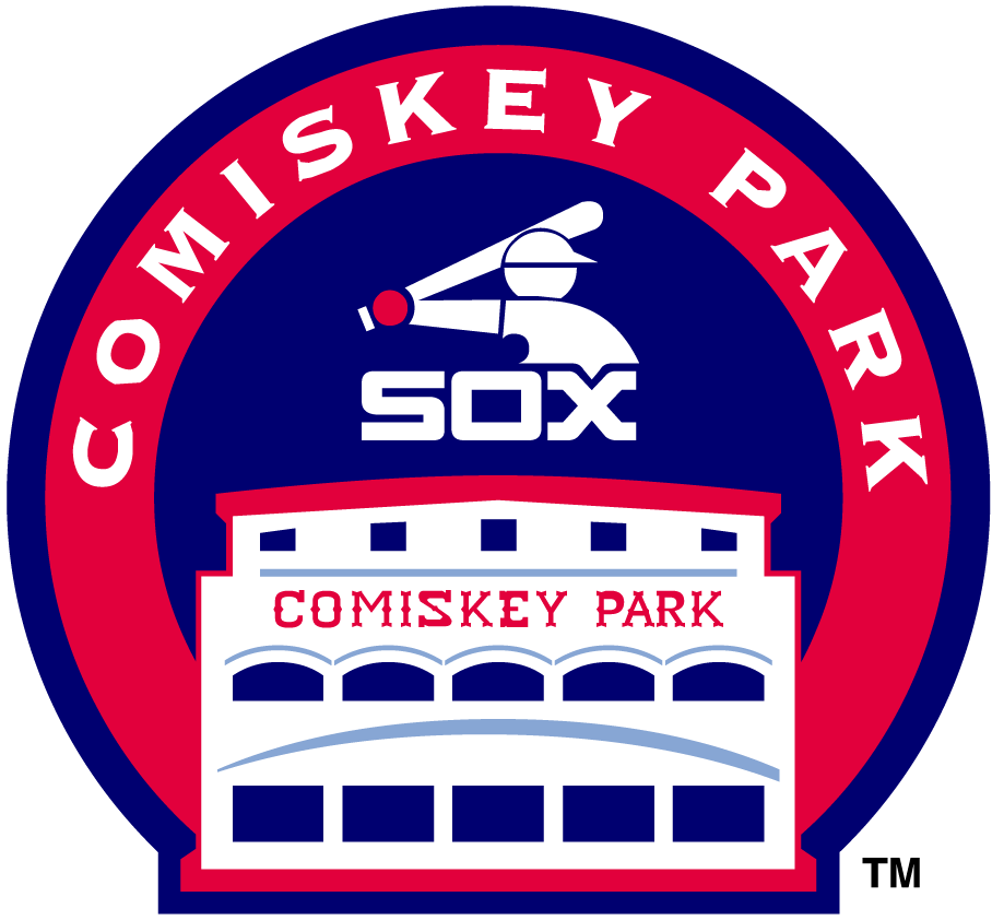 Chicago White Sox Logo Stadium Logo (1981-1990) - Comiskey Park SportsLogos.Net