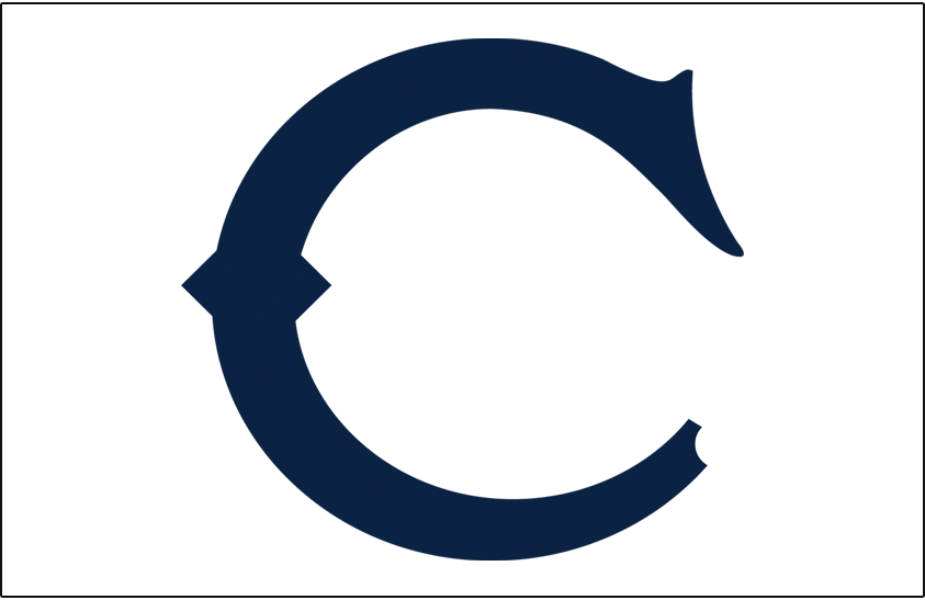 Chicago White Sox Logo Jersey Logo (1908-1909) - C in navy blue, worn on front of White Sox home jersey in 1908 and the sleeve of their jersey in 1909 SportsLogos.Net