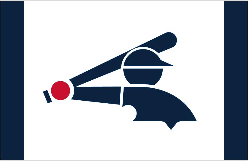 Chicago White Sox Logo Batting Practice Logo (2014-Pres) - Navy blue Batterman logo originally used by the White Sox from 1976-1990, worn on a white and navy blue cap as the Chicago White Sox alternate batting practice cap beginning with the 2014 season SportsLogos.Net