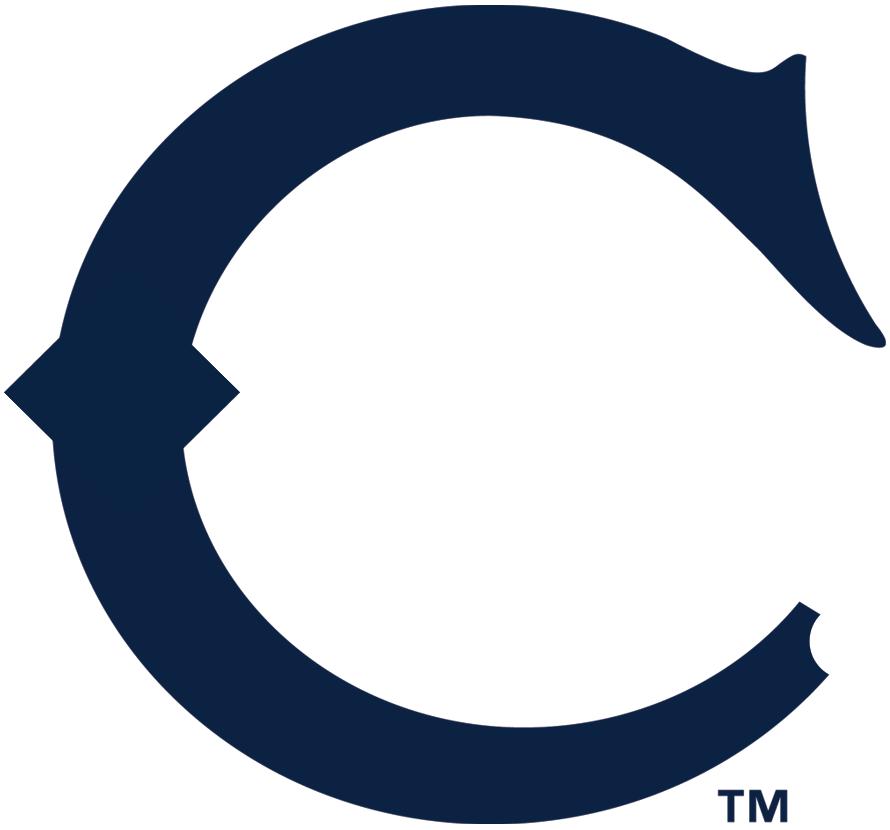 Chicago White Sox Logo Primary Logo (1908-1909) - A navy blue 'C' SportsLogos.Net