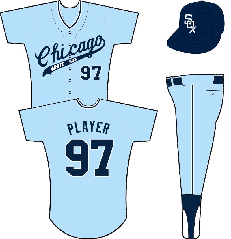 Chicago White Sox Uniform Road Uniform (1967-1968) -  SportsLogos.Net