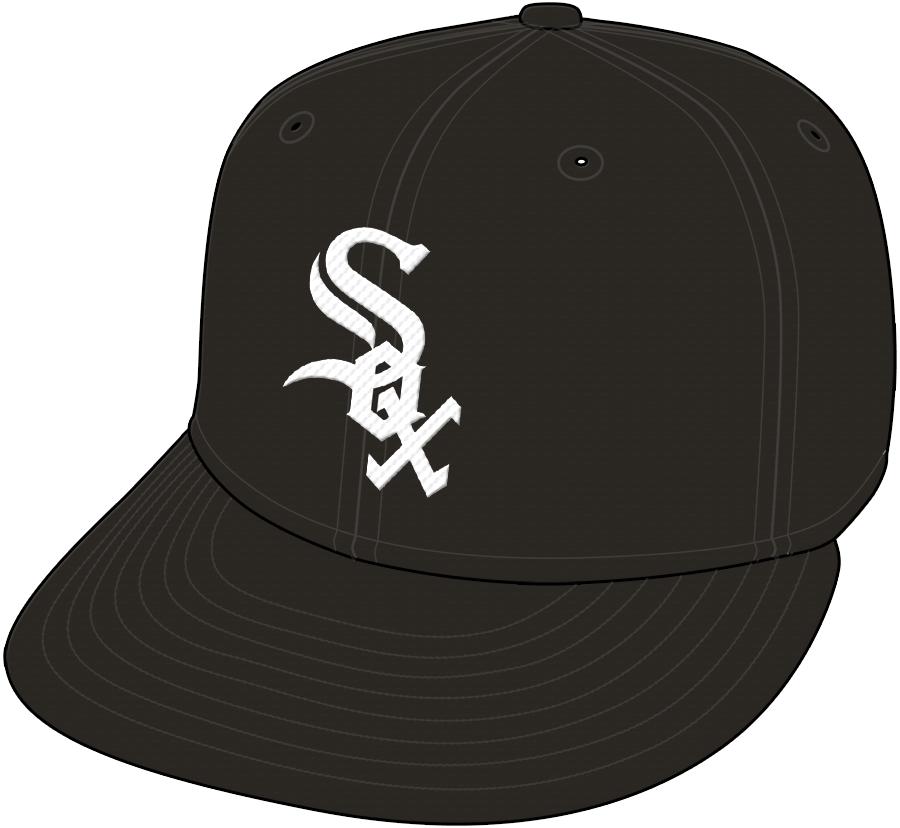 Chicago White Sox Cap Cap (1990-Pres) - September only in 1990 SportsLogos.Net