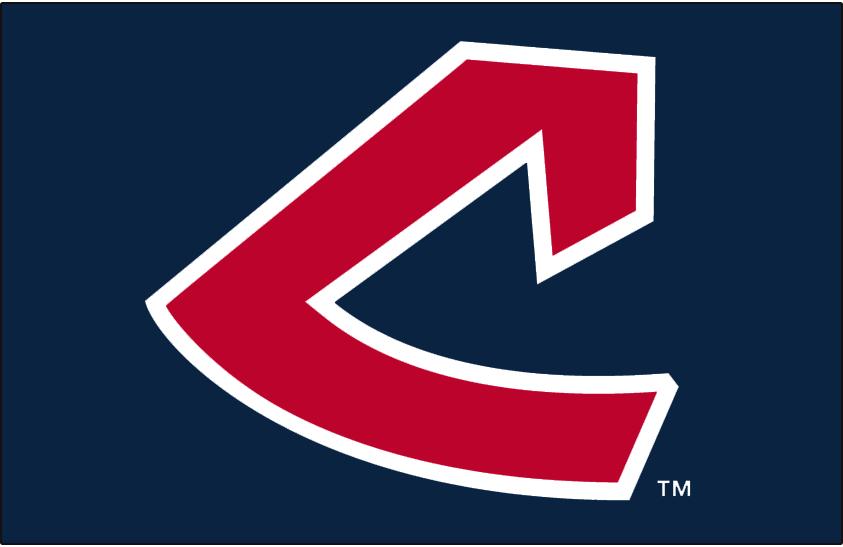 Cleveland Indians Logo Cap Logo (1973-1977) - A red stylized C on navy SportsLogos.Net