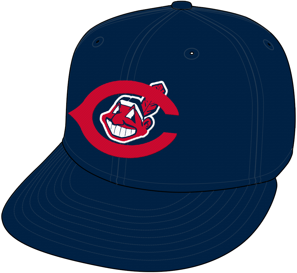 Cleveland Indians Cap Cap (1954-1957) -  SportsLogos.Net