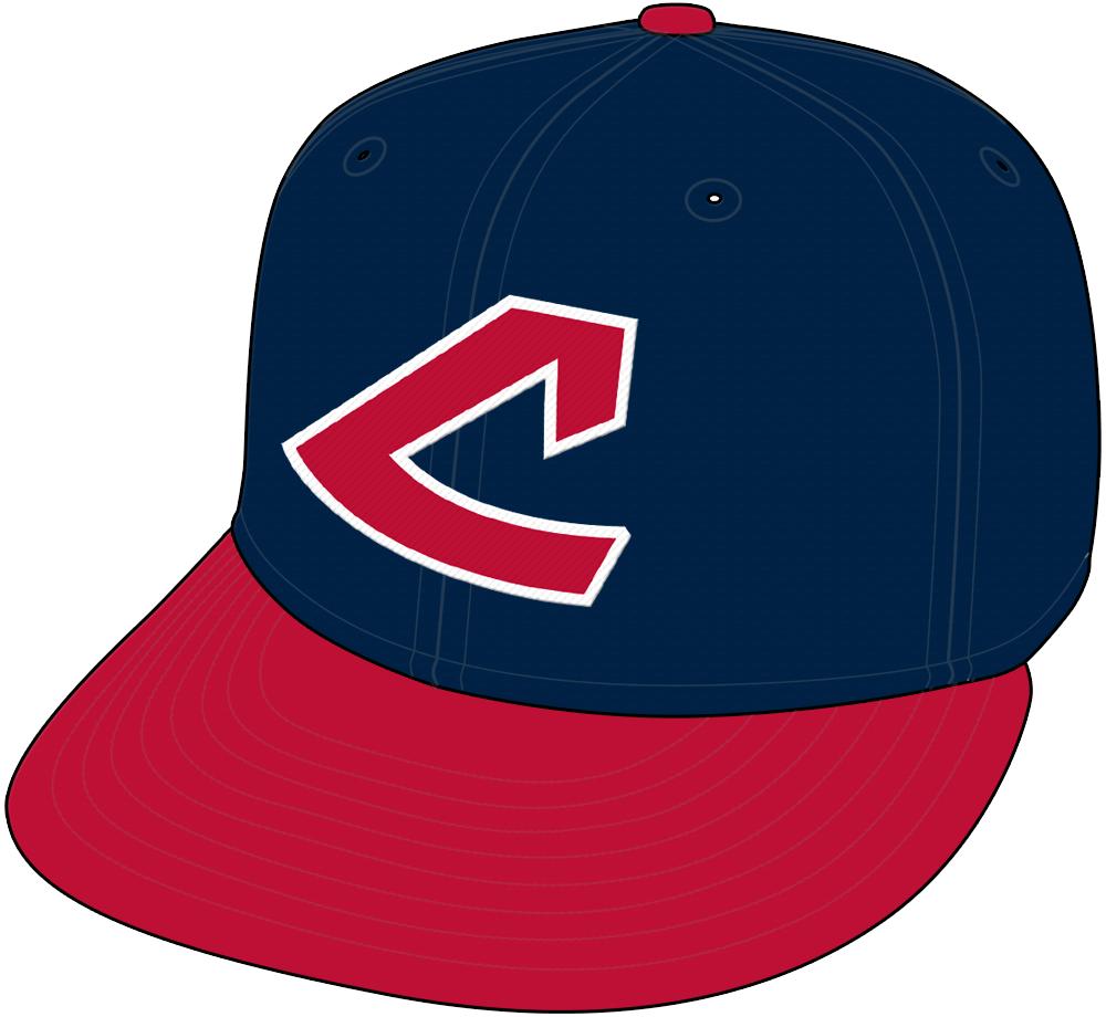Cleveland Indians Cap Cap (1974-1977) - Alternate cap in 1974, Home and road cap 1975-77 SportsLogos.Net