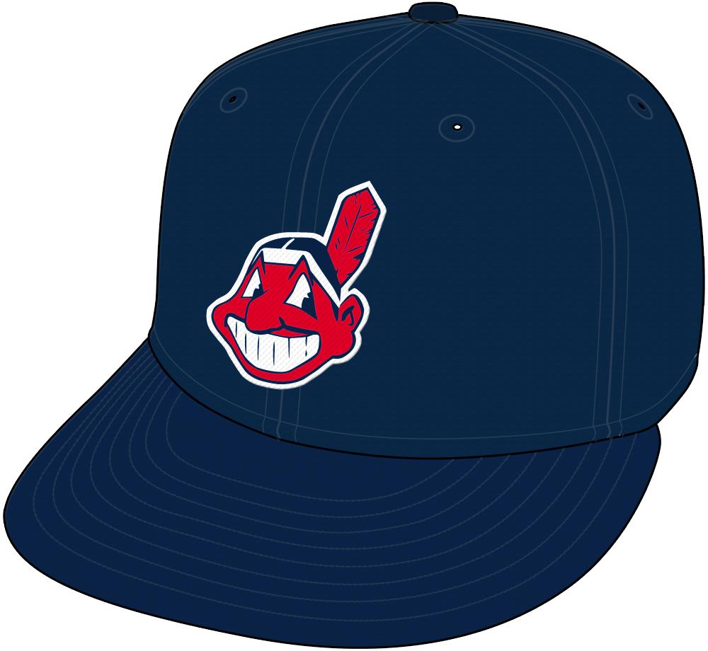 Cleveland Indians Cap Cap (2008-Pres) - Road Cap (2008-10). Alternate Road Cap (2011-) SportsLogos.Net