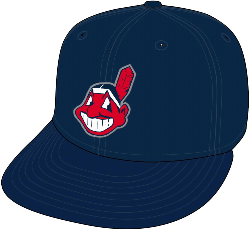 Cleveland Indians Cap Cap (2003-2007) - Road Cap SportsLogos.Net