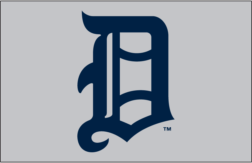 Detroit Tigers Logo Jersey Logo (1907) -  SportsLogos.Net