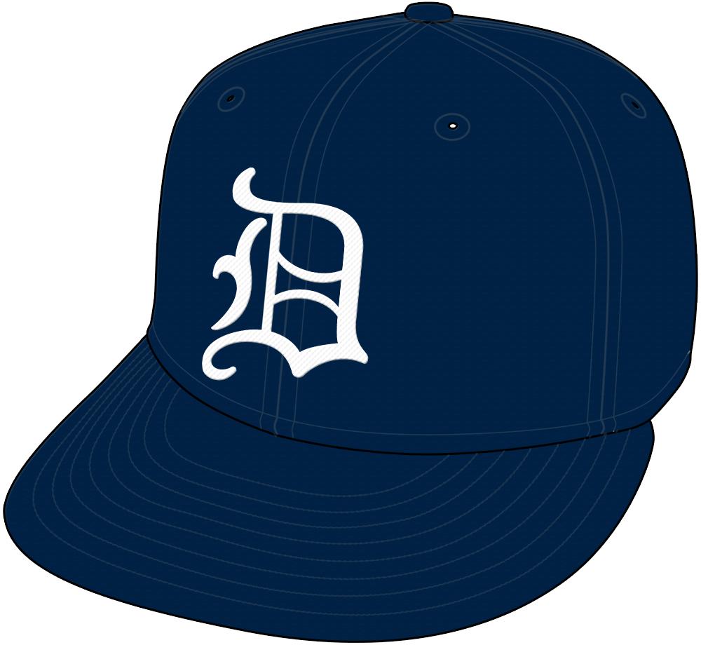 Detroit Tigers Cap Cap (1966-1967) -  SportsLogos.Net