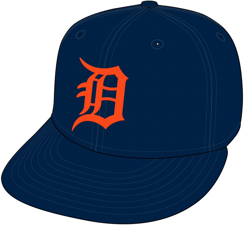 Detroit Tigers Cap Cap (1998-Pres) - Road cap SportsLogos.Net