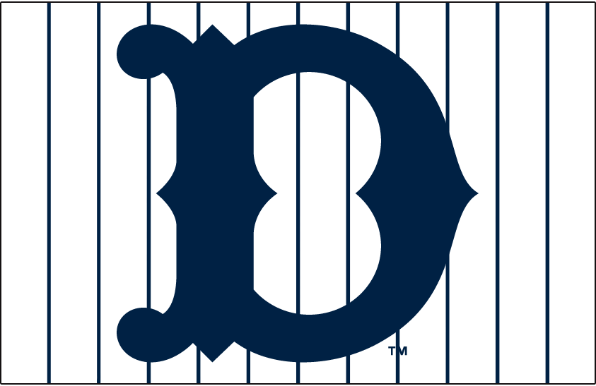 Detroit Tigers Logo Jersey Logo (1918-1920) -  SportsLogos.Net