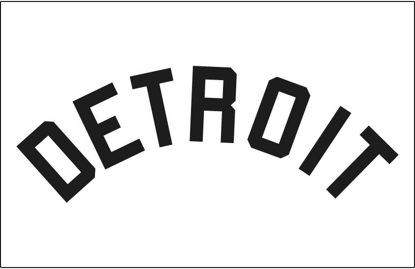 Detroit Tigers Logo Jersey Logo (1901-1902) -  SportsLogos.Net