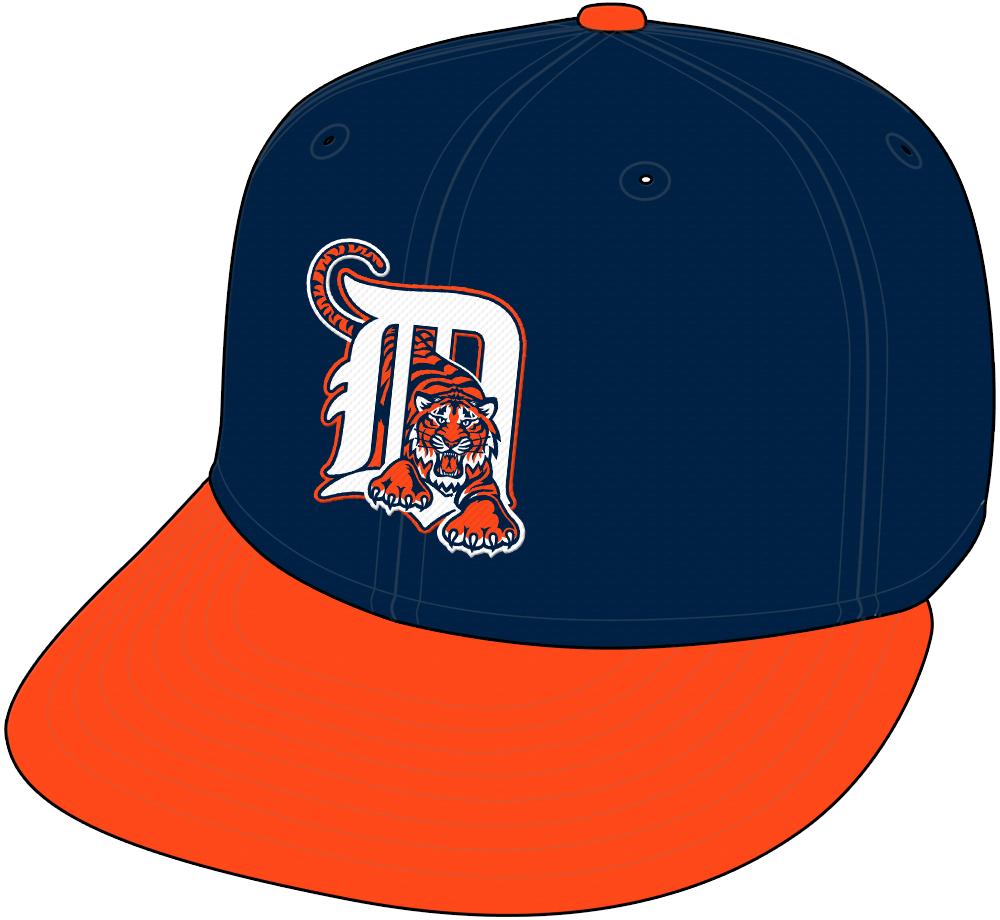 Detroit Tigers Cap Cap (1994-1997) - Road cap SportsLogos.Net