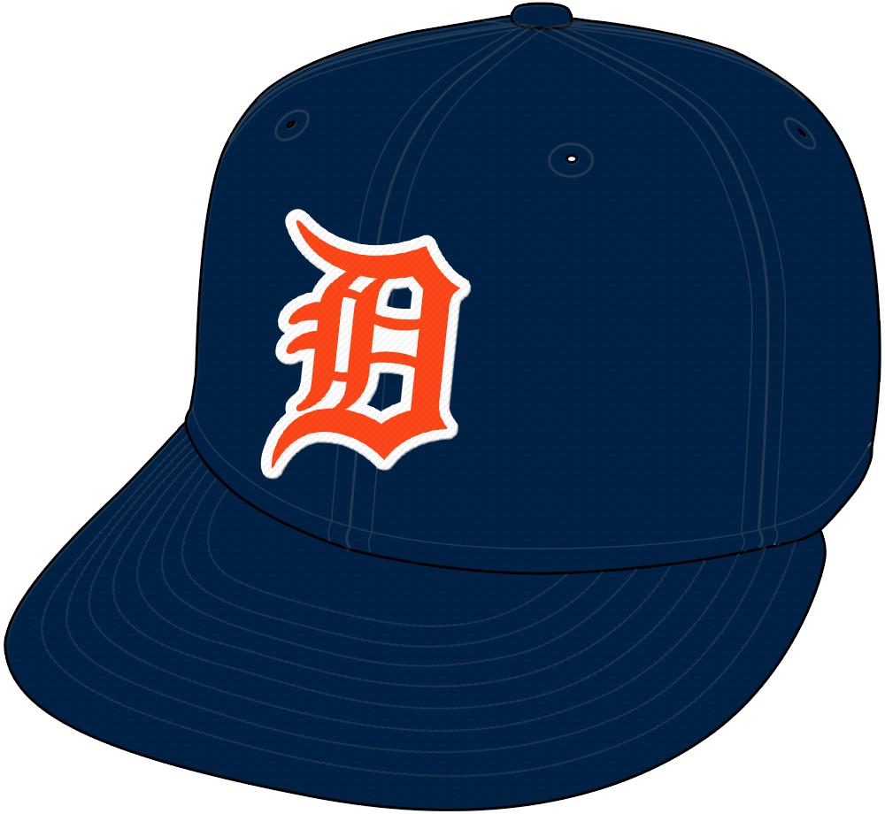Detroit Tigers Cap Cap (1972-1982) - Road cap SportsLogos.Net