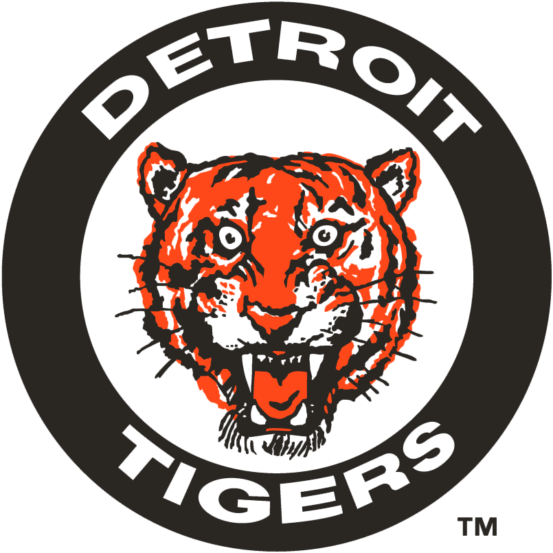 Detroit Tigers Logo Primary Logo (1961-1963) -  SportsLogos.Net