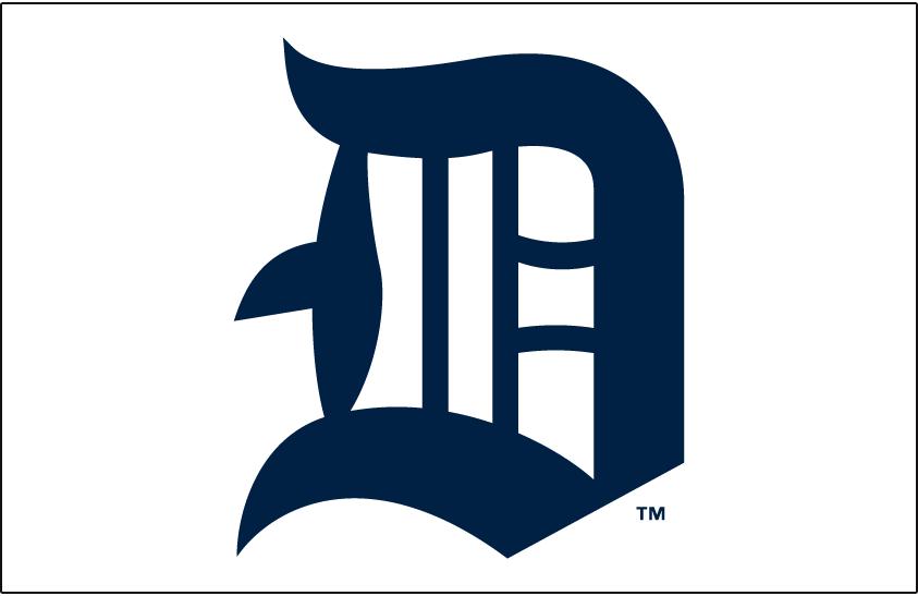 Detroit Tigers Logo Jersey Logo (1914) -  SportsLogos.Net