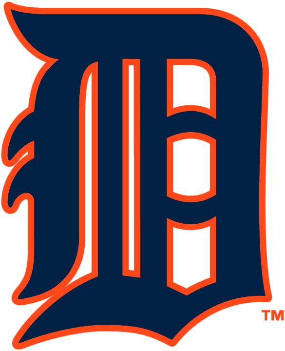 detroit tigers primary logo american league al chris creamer s rh sportslogos net detroit tigers logo 2018 detroit tigers logo 2018