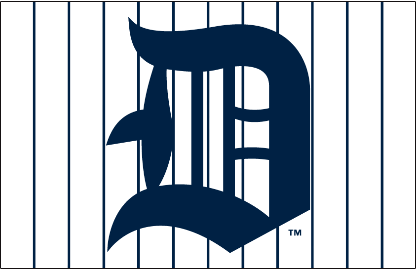 Detroit Tigers Logo Jersey Logo (1915) -  SportsLogos.Net