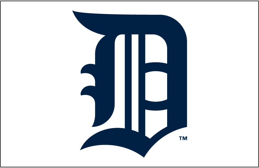 Detroit Tigers Logo Jersey Logo (1908-1911) -  SportsLogos.Net