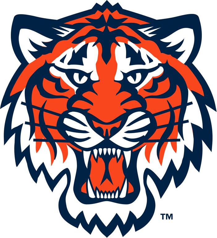 Detroit Tigers Logo Partial Logo (1994-2006) -  SportsLogos.Net