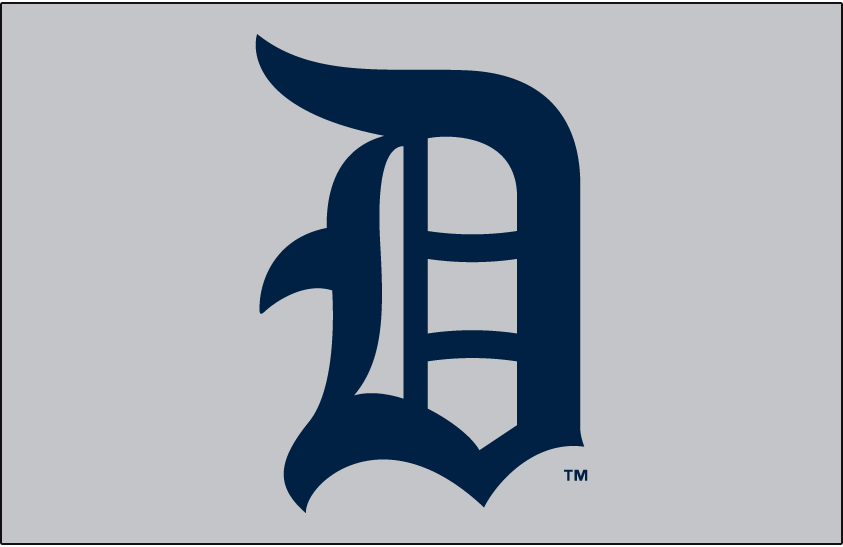 Detroit Tigers Logo Jersey Logo (1917) -  SportsLogos.Net