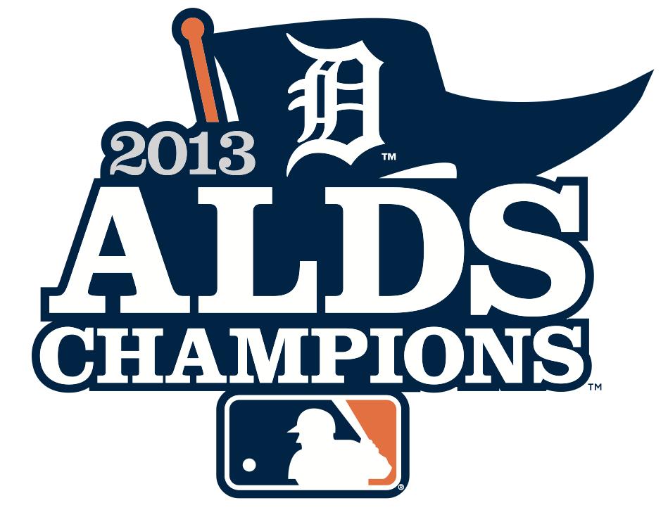 Detroit Tigers Logo Champion Logo (2013) - Detroit Tigers 2013 ALDS Champions Logo SportsLogos.Net
