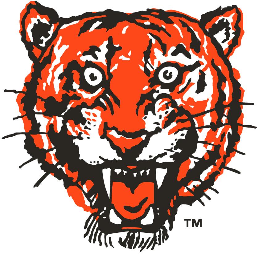 Detroit Tigers Logo Primary Logo (1957-1960) -  SportsLogos.Net